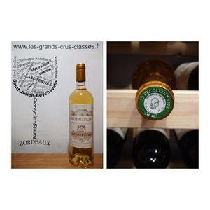 VIN BLANC Château Filhot 2015 - 2ème Grand Cru Classé - Saut