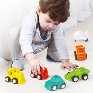 VOITURE ELECTRIQUE ENFANT Jouets voiture 6 Paquet Jouets d'enfants Véhicules
