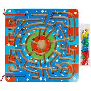 PUZZLE andux-zone puzzle en bois magnétique 2 en 1 animau