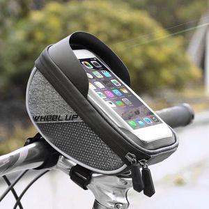 DÉCORATION DE VÉLO Sac imperméable à l'eau de sac de vélo, sac de tél