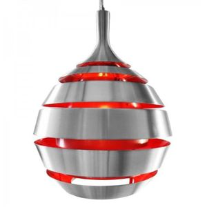 LUSTRE ET SUSPENSION suspension design Cocoon rouge