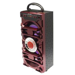 ENCEINTE NOMADE BAFFLE ENCEINTE PORTABLE BLUETOOTH FM USB 10W ROUG