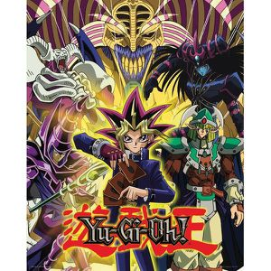 AFFICHE - POSTER YU-GI-HO - Mini Poster 40X50 - Yugi and Monsters :