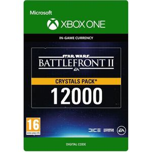 EXTENSION - CODE DLC Star Wars Battlefront II: 12000 Crystals pour