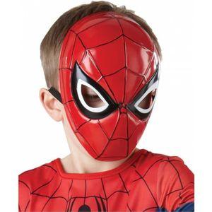 MASQUE - DÉCOR VISAGE Spiderman enfants demi-masque