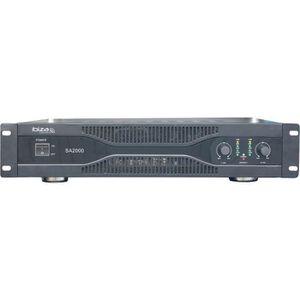 AMPLI PUISSANCE IBIZA SOUND SA2000 Amplificateur sono 2 x 1000w