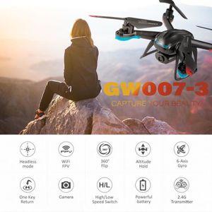 DRONE GLOBAL DRONE GW007-3 RC Drone 720P Wifi FPV Selfie
