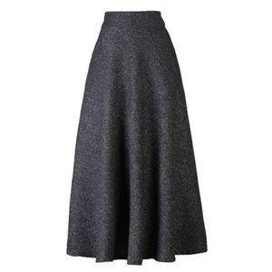 JUPE jupe longue évasée à taille haute pour femmes 1K8V