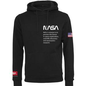SWEATSHIRT Merchcode Hoody - NASA Definition noir