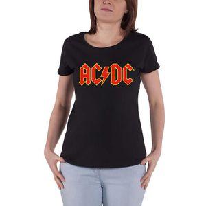 Official AC DC Back In Black T Shirt Album Art New Classic Rock Hells Bells