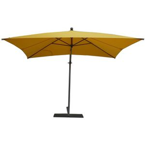 parasol jaune achat vente parasol jaune pas cher cdiscount. Black Bedroom Furniture Sets. Home Design Ideas