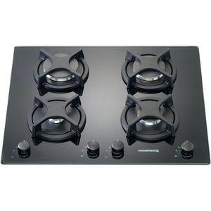 PLAQUE GAZ ROSIERES RTV640FPN - Table de cuisson gaz - 4 foye