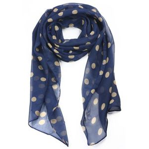 foulard femme bleu pois achat vente foulard femme bleu. Black Bedroom Furniture Sets. Home Design Ideas