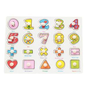 PUZZLE Jeux Educatif Puzzles en Bois À Encastrement Jouet