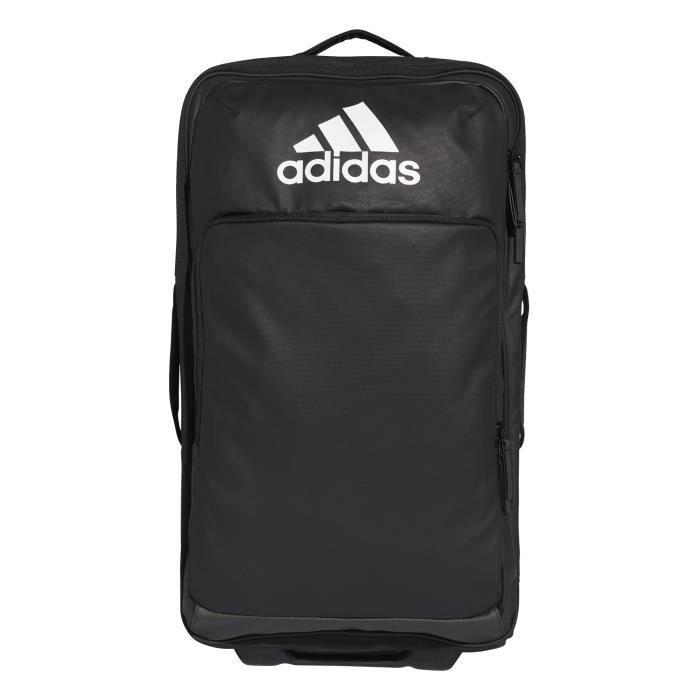 Sac de sport adidas à roulettes Format moyen - noir/noir/blanc - TU