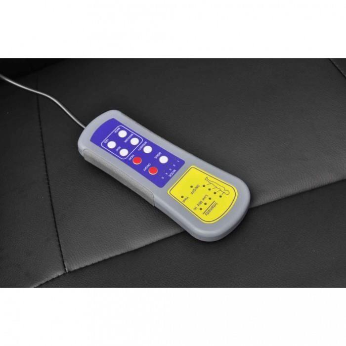 Fauteuils de massage electriques Fauteuil de relaxation massant electrique noir