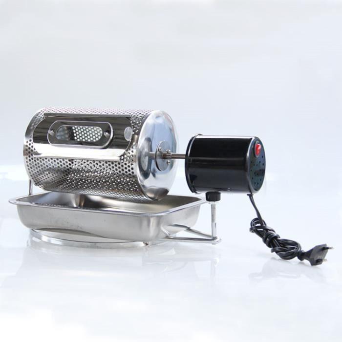 220 V/110 V Électrique En Acier Inoxydable Café Torréfacteur Utilisé Dans Cuisinière À Gaz Ou Électrique Poêle