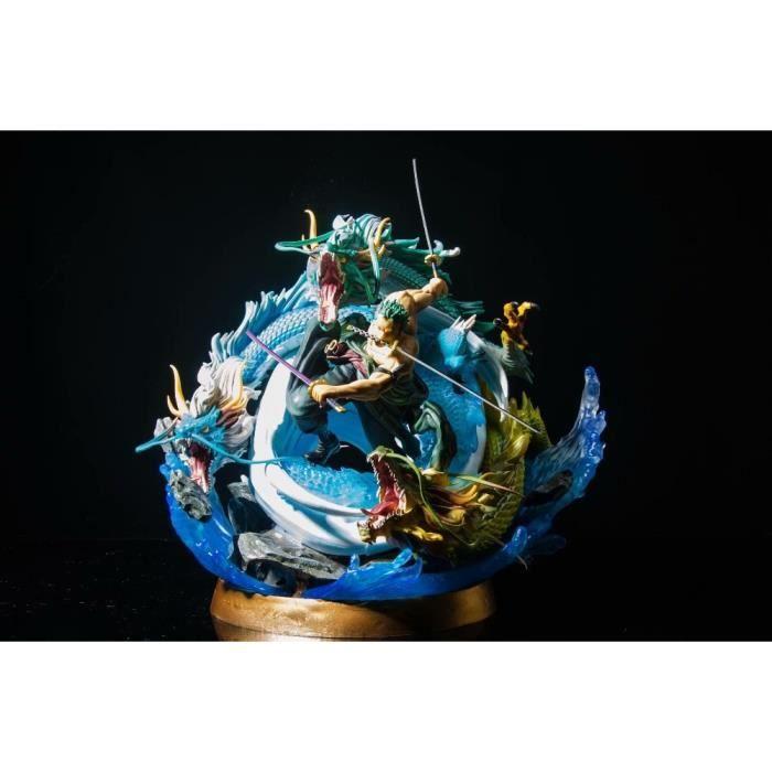 50cm GK Roronoa Zoro mille monde tornade forme de bataille Statue PVC figurine Anime une pièce statue modèle à collectionner jouets