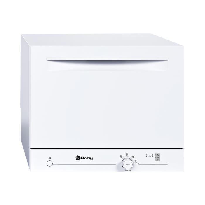 Balay 3VK301BC Lave-vaisselle pose libre largeur : 55.1 cm profondeur : 50 cm hauteur : 45 cm blanc
