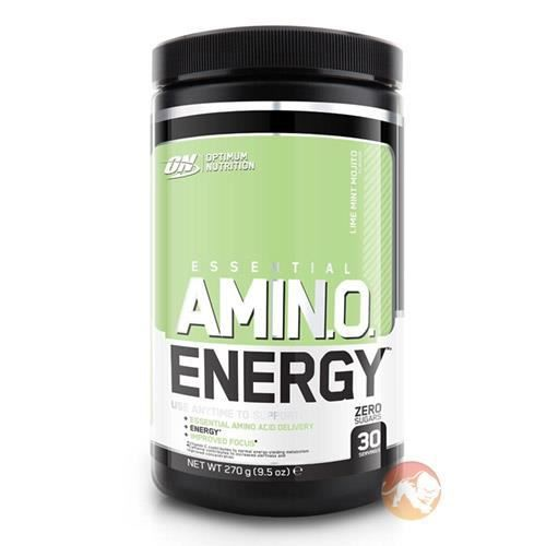 Complément Alimentaire - Optimum Nutrition Amino Energy 90g - 10 Portions (Fusion de fruits)