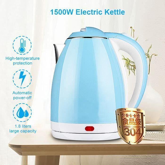 Bouilloire Electrique Chauffe-Eau 1500W Sans Fil Avec Protection Rapide ébullition L50671