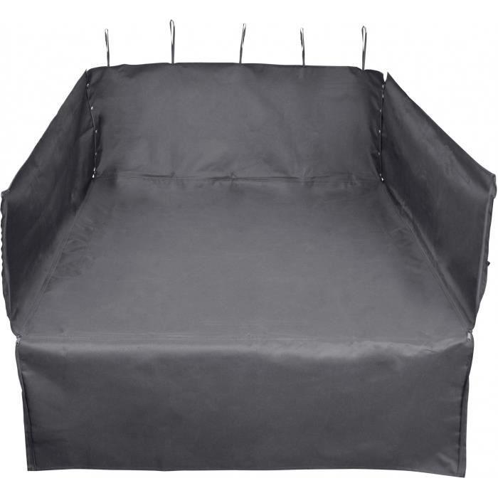 Carpoint tapis de coffre pour chiens 110 x 100 x 40 cm pes noir
