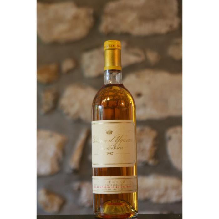 Vin blanc, Chateau Yquem 1987 Blanc