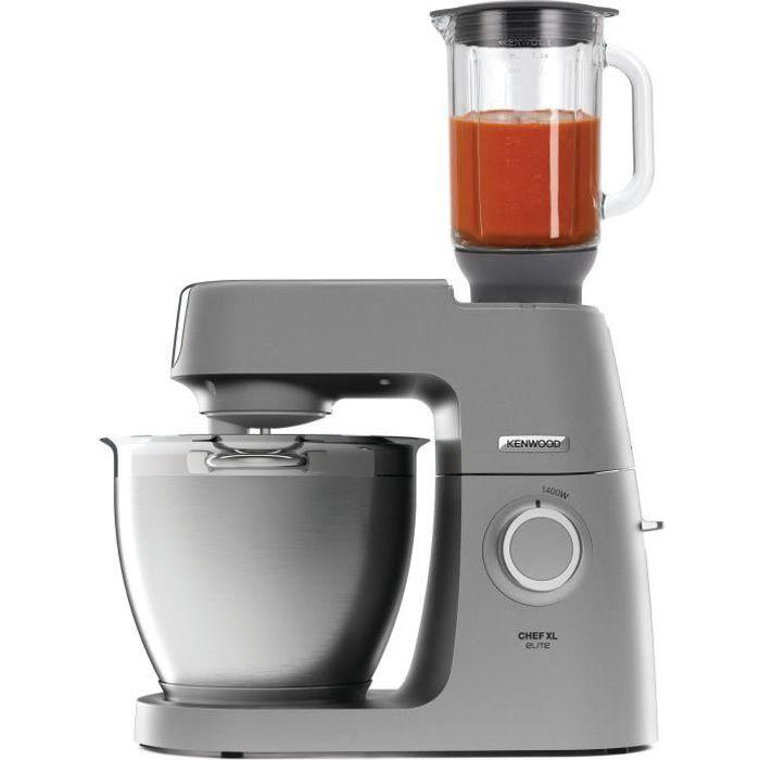 Robot pâtissier KENWOOD KVL6320S Chef XL Elite - Gris