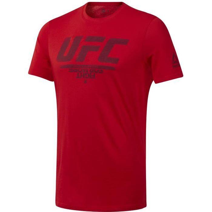 T-shirt Reebok avec logo UFC Fan Gear