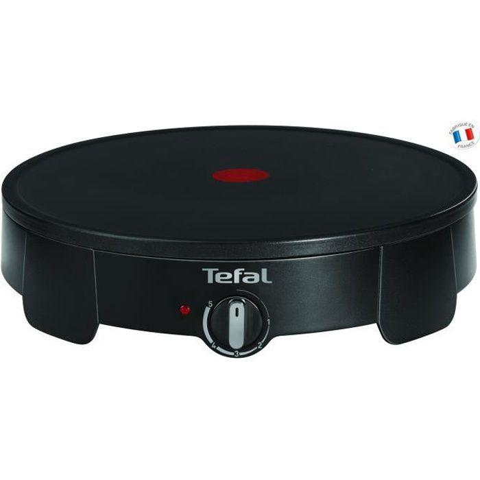 TEFAL PY710812 Crêpiere électrique - Noir