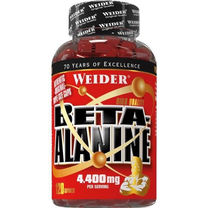 WEIDER Sachet de Beta Alanine 120 Gélules