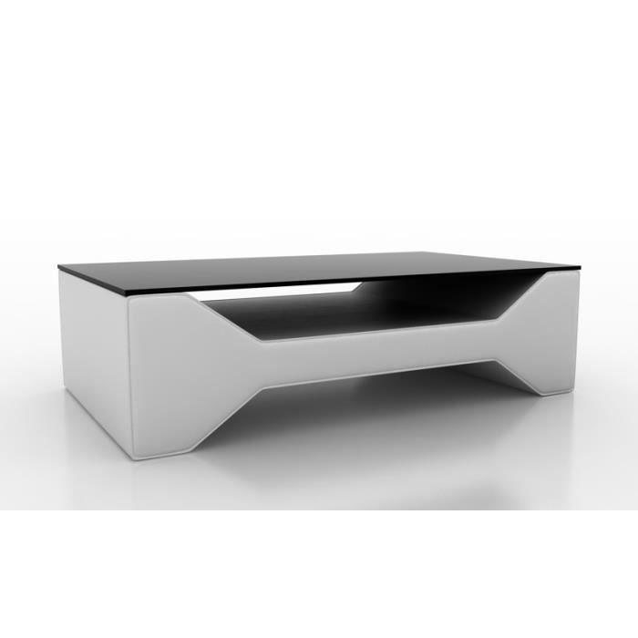 table basse design blanche celia achat vente table. Black Bedroom Furniture Sets. Home Design Ideas