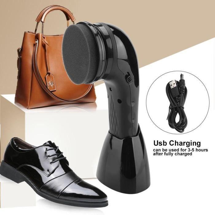 Brosse /à Chaussures /électrique Automatique Cireuse /à Chaussures /électrique Cireuse /à Chaussures Brosse /à Chaussures pour Chaussures Sacs Entretien du Cuir Cirage de Chaussure