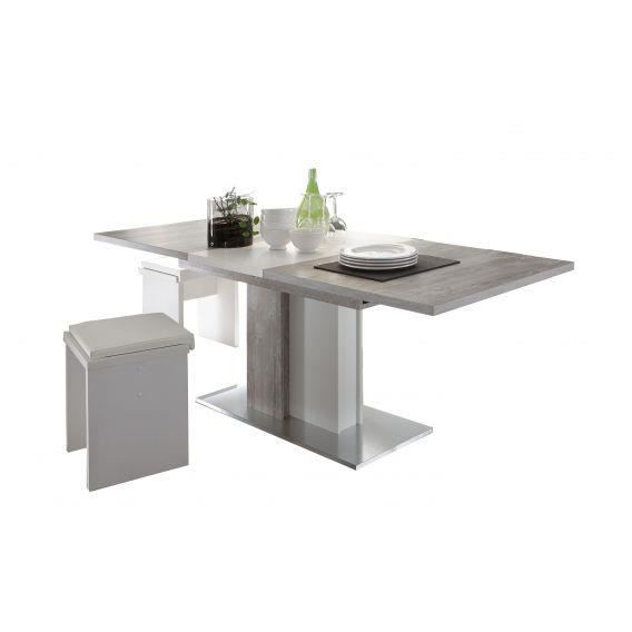 Table a manger beton achat vente table a manger beton for Table a manger beton