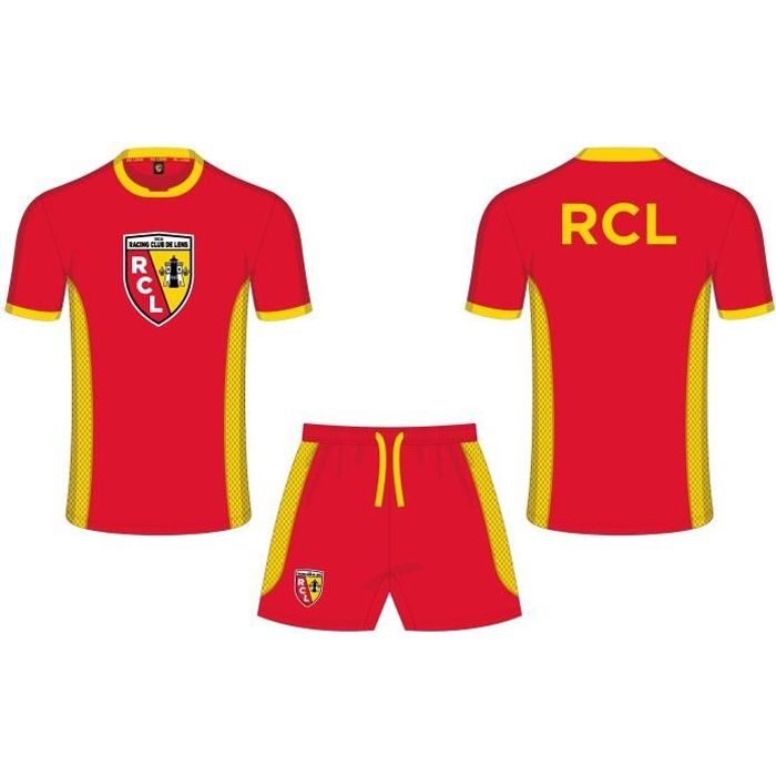 Taille Adulte Homme RC LENS T-Shirt Collection Officielle Racing Club DE Lens RCL