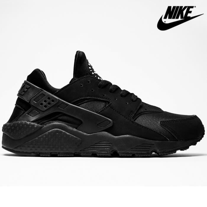 nike huarache triple black 318429 003 noir achat vente basket cdiscount. Black Bedroom Furniture Sets. Home Design Ideas
