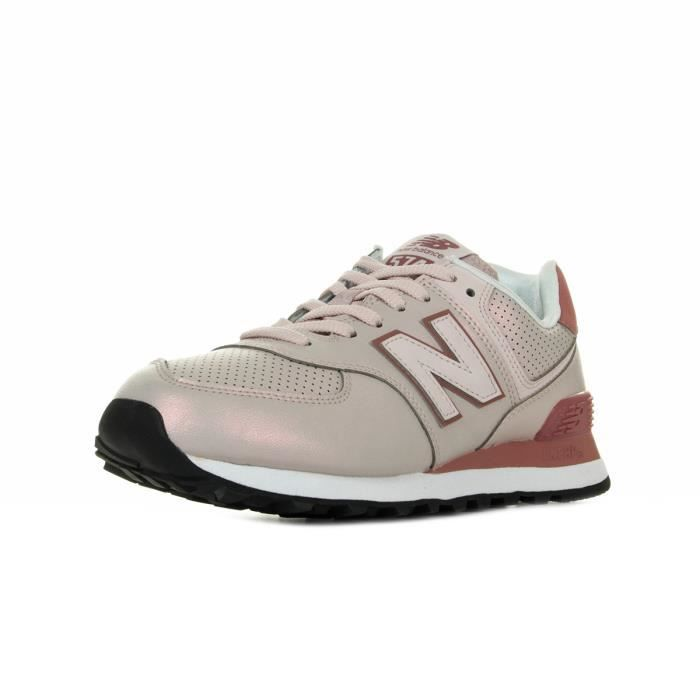 new balance rose pale 574