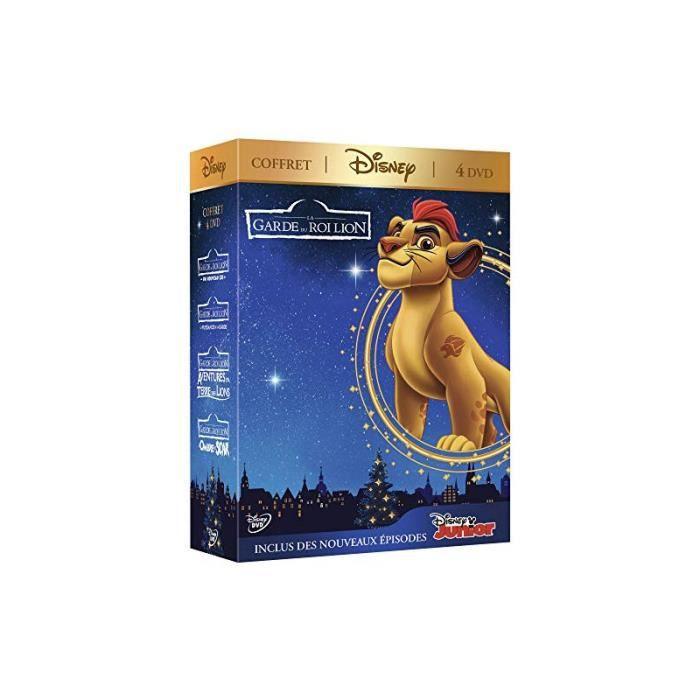 La Garde Du Roi Lion Coffret 4 Dvd