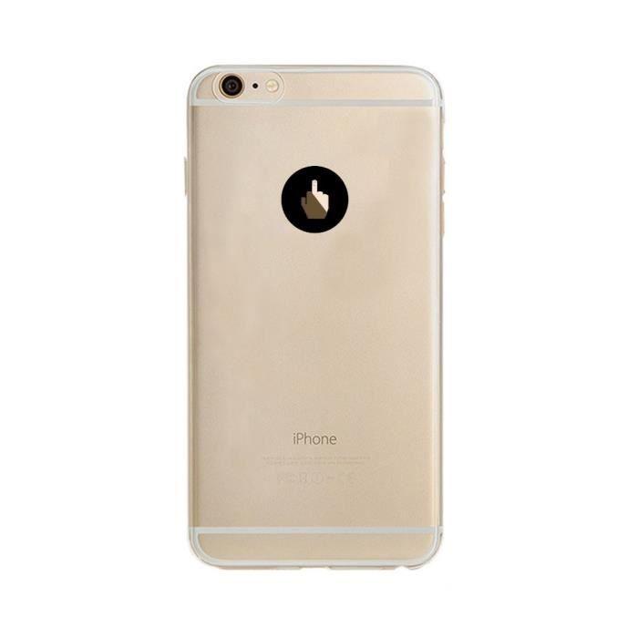 coque silicone iphone 6 6s doigt d honneur fun app