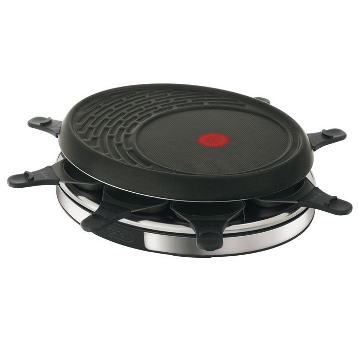 tefal re135812 achat vente appareil raclette cdiscount. Black Bedroom Furniture Sets. Home Design Ideas