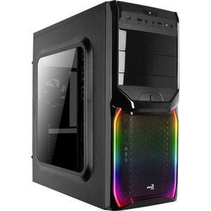 BOITIER PC  AEROCOOL Boîtier PC V3X - Avec fenêtre - RGB - For