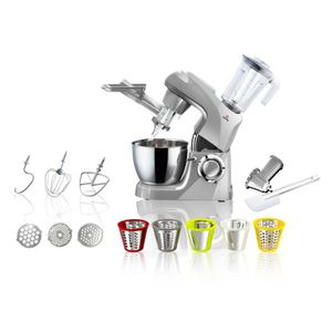 ROBOT MULTIFONCTIONS ETERNITY - Robot pâtissier Full Option Silver 4.5L