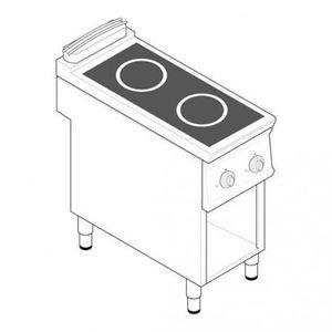 PLAQUE INDUCTION Plaque de cuisson électrique à induction - 2 plaqu