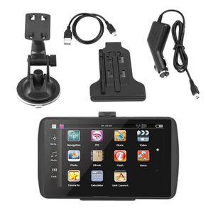 GPS AUTO LANQI Navigation GPS, écran tactile portable HD 7