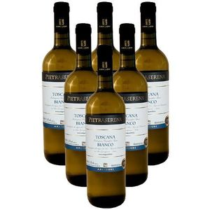 VIN BLANC Vin blanc IGT Tuscany Pietraserena 6 bouteilles 75