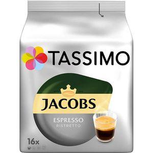 CAFÉ CD-89capsules Tassimo Jacobs Espresso Ristretto, 8