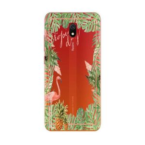 COQUE - BUMPER Coque Redmi 8A Tropical day Flamant Ananas summer