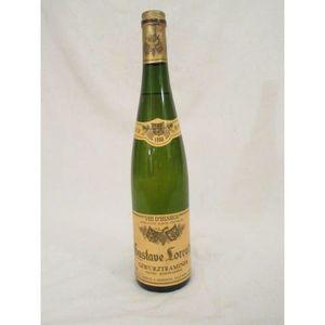 VIN BLANC gewurztraminer lorentz cuvée particulière blanc 19