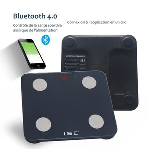 PÈSE-PERSONNE ISE Pèse Personne Impédancemètre IOS Android Bluet
