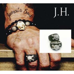 BAGUE , ANNEAU Bague johnny hallyday taille 64